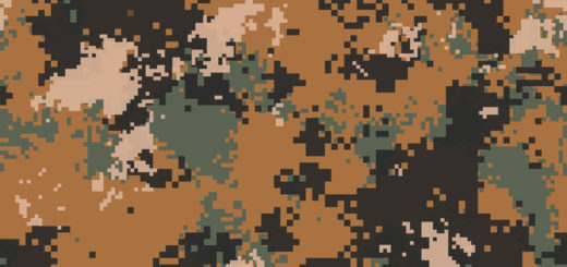 Desert Marpat Digital Camouflage. Seamless Tileable Texture.